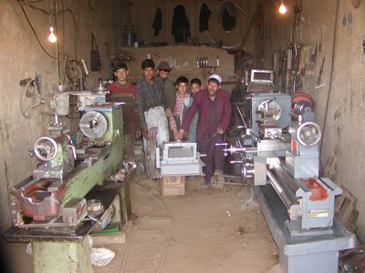 Afghan workshop