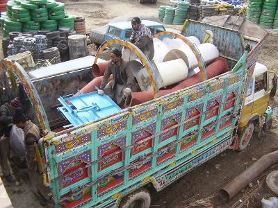 Transport of equipments